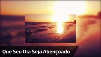 Mensagem De Bom Dia Para Facebook, Cada Segundo Seja Guiado Por Deus!