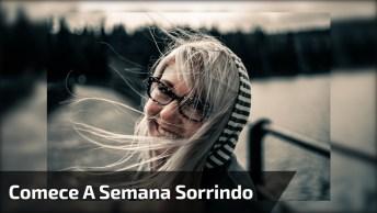 Mensagem De Bom Dia Para Facebook, Comece A Semana Sorrindo!