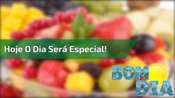 Mensagem De Bom Dia Para Facebook, Hoje O Dia Será Especial. . .!