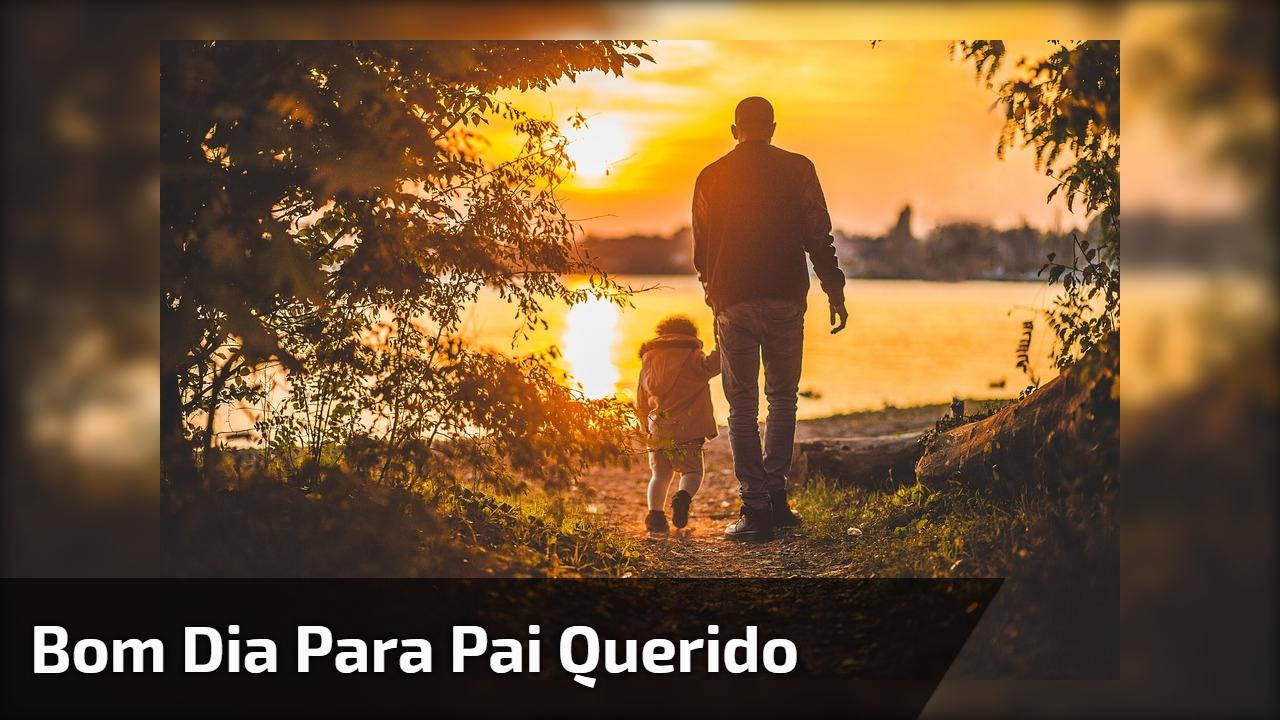 Mensagem de Bom Dia para pai! Pai tenha um ótimo dia, te amo!!!