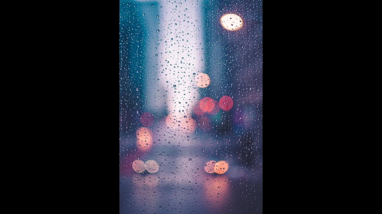 Mensagem de Bom Dia sábado com chuva!
