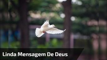 Mensagem Linda De Bom Dia Com Música De Deus, Para Facebook!
