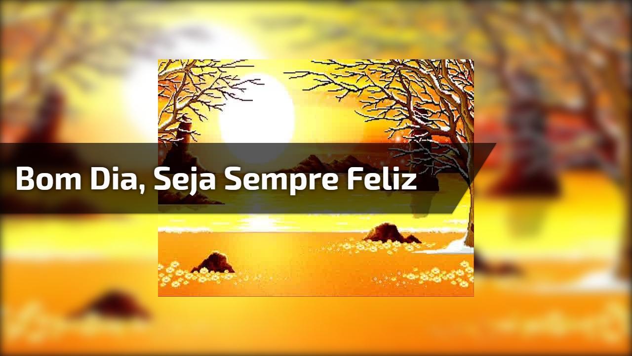 Nunca desista de ser feliz! Conte sempre comigo! Tenha um Bom Dia!!!