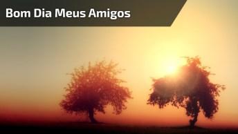 Vídeo Com Mensagem De Bom Dia A Todos Amigos E Amigas Do Facebook!