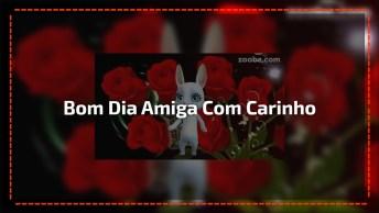 Vídeo Com Mensagem De Bom Dia Com Muito Amor E Carinho Para Amiga!