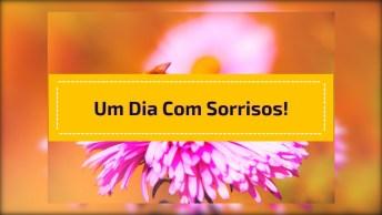 Vídeo Com Mensagem De Bom Dia Para Enviar Para Todos Amigos E Amigas!