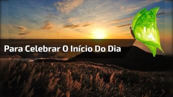 Vídeo Com Mensagem De Bom Dia Vida, Para Celebrar O Inicio De Mais Um Dia. . .