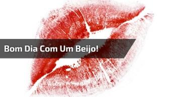 Vídeo De Bom Dia Com Beijo Para Amigos Do Whatsapp, Confira!