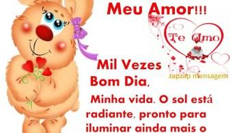 Vídeo De Bom Dia Para Amor, Envie Pelo Whatsapp Da Pessoa Amada!