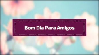 Vídeo De Bom Dia Para Enviar A Todos Amigos E Amigas, Que Deus Te Guie!