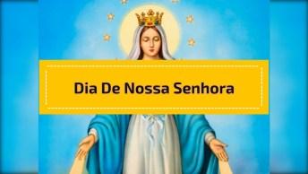 15 De Agosto É Dia Da Assunção De Nossa Senhora - Mãe De Jesus Cristo, Aos Céus!