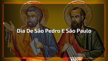 29 De Junho É Dia De São Pedro E São Paulo, Compartilhe Este Vídeo No Facebook!