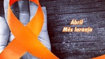 Abril Mês Laranja - Mês Da Prevenção Contra A Crueldade Contra Os Animais!