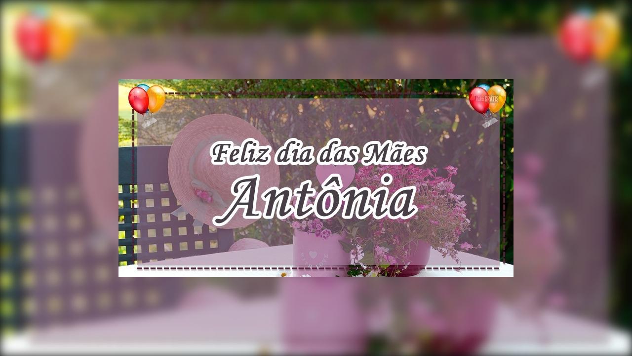 Antônia, minha mãe, uma pessoa que eu admiro e amo muito
