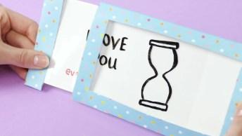 Aprenda A Fazer Cartões Para O Dia Dos Namorados, Super Fáceis!