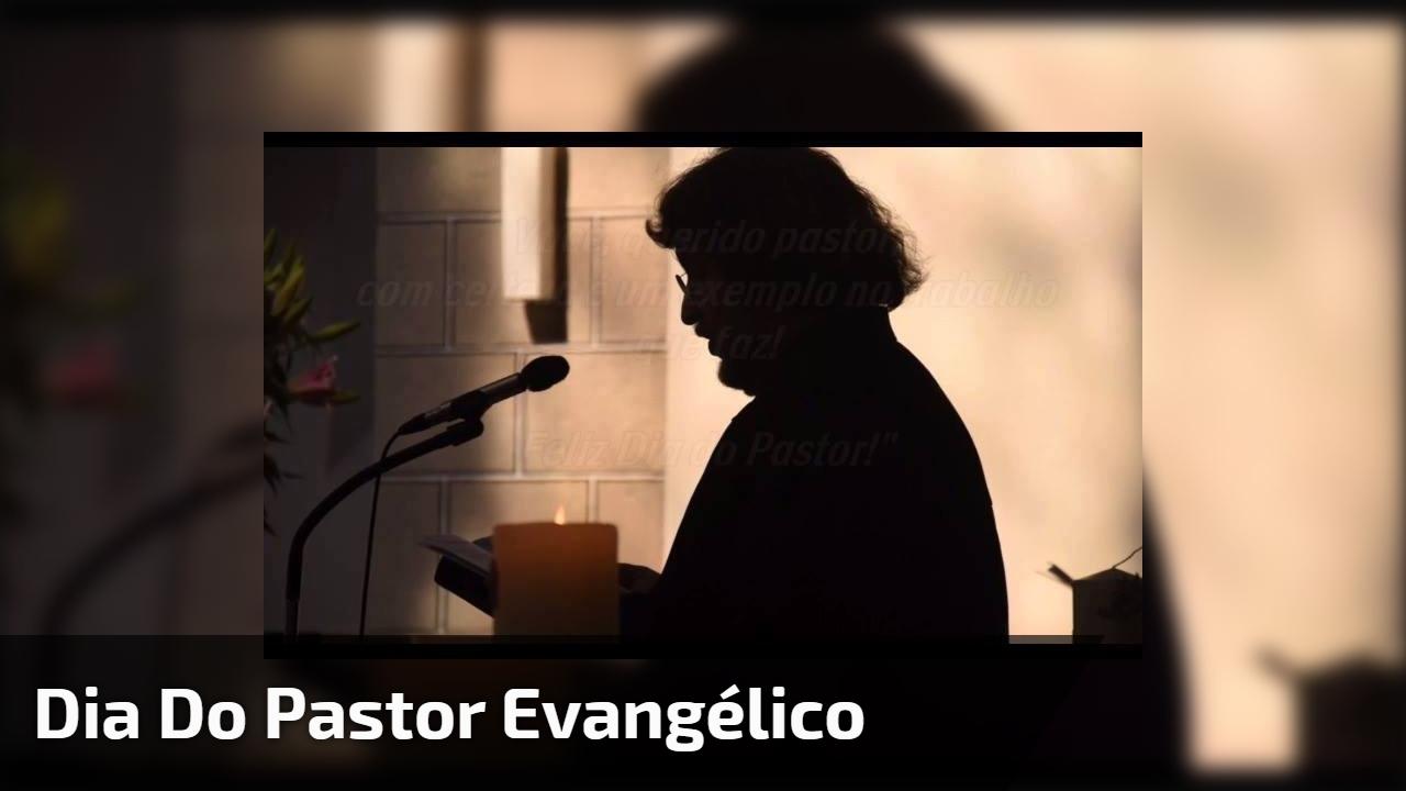 Dia 10 de Junho é dia do Pastor Evangélico - um exemplo no trabalho que faz!