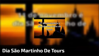 Dia 11 De Novembro É Dia São Martinho De Tours, Patrono Dos Comerciantes!