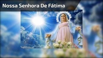 Dia 13 De Maio É Dia De Nossa Senhora De Fátima, Compartilhe Com Seus Amigos!