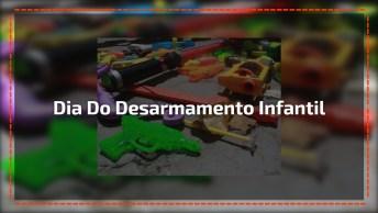 Dia 15 De Abril É Dia Do Desarmamento Infantil - Arma Não É Brinquedo!