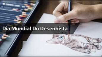 Dia 15 De Abril É Dia Mundial Do Desenhista - Fascinam Com Seus Traços!