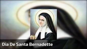Dia 16 De Abril É Dia De Santa Bernadette - Oração A Santa Bernadette!