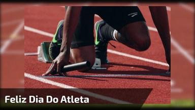 Dia 17 De Dezembro É Dia Do Atleta, Ele Que Todos Os Dias Supera Desafios!