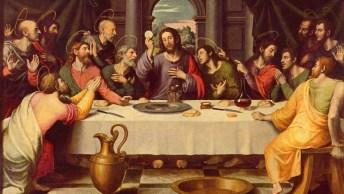 Dia 18 De Abril É Quinta-Feira Santa - Reunião Dos Apóstolos Na Última Ceia!