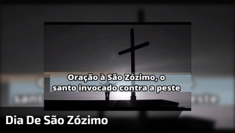 Dia 18 De Dezembro Dia De São Zózimo, O Santo Invocado Contra A Peste!