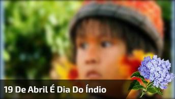 Dia 19 De Abril É Dia Do Índio - Estão Presentes Na História Desde O Início!