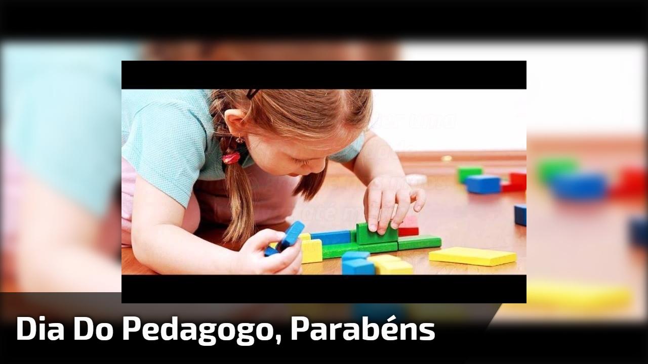 Dia 20 de maio é Dia do Pedagogo. Parabéns a todos profissionais desta área!!!
