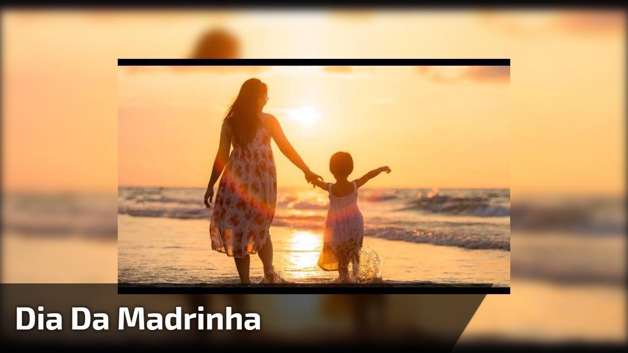 Dia 25 de novembro é Dia da Madrinha, dia da minha segunda mãe!!!