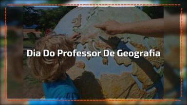 Dia 26 De Junho É Dia Do Professor De Geografia, Parabéns Professor!