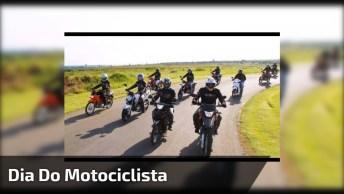 Dia 27 De Julho É Dia Do Motociclista, Que Deus Abençoe A Todos!