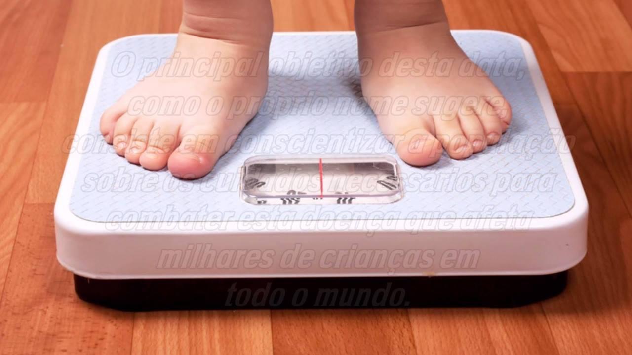 Dia 3 de Junho é Dia da Conscientização Contra a Obesidade Mórbida Infantil