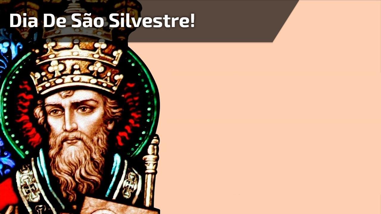 Dia de São Silvestre!