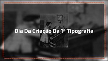 Dia 5 De Janeiro Comemora-Se O Dia Da Criação Da 1ª Tipografia No Brasil!