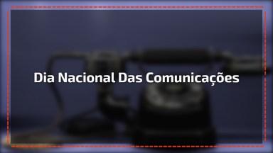 Dia 5 De Maio É Dia Nacional Das Comunicações. Parabéns A Todos Desta Área!