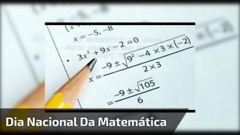 Dia 6 De Maio É Dia Nacional Da Matemática. Parabéns A Todos Profissionais!