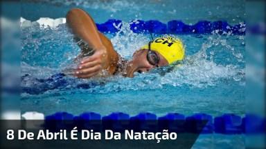 Dia 8 De Abril É Dia Da Natação, Um Dos Esportes Mais Praticados No Brasil!