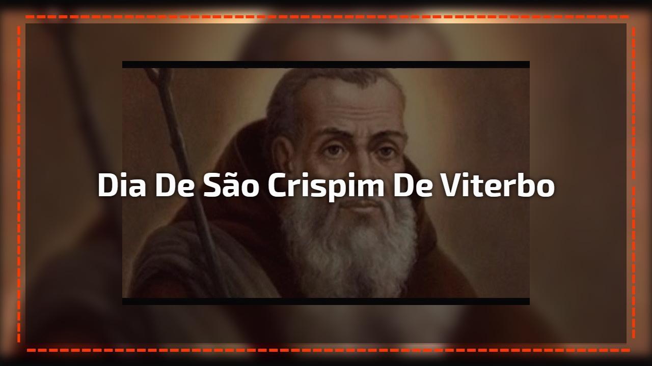 Dia de São Crispim de Viterbo