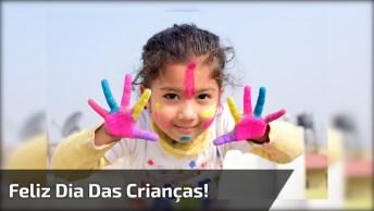 Feliz Dia Das Crianças! Que Você Jamais Perca O Lado Bom Da Vida!