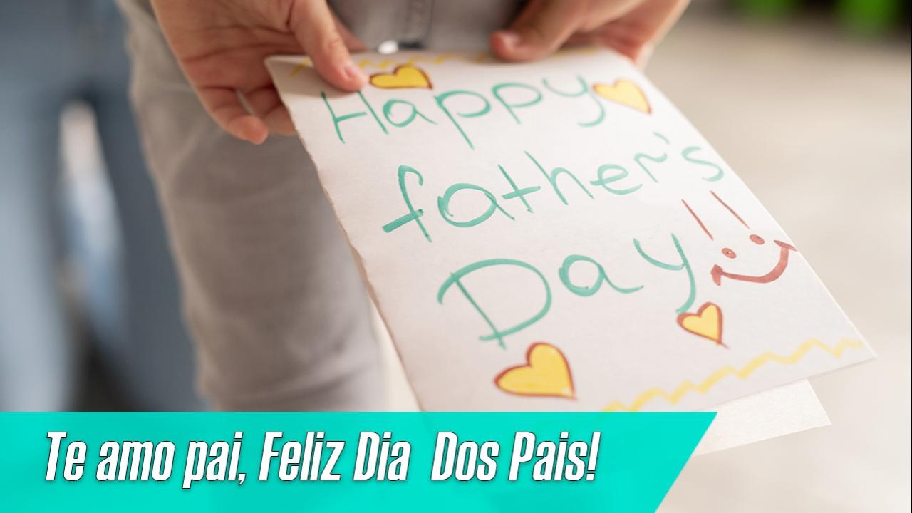 Mensagem de filho ou filha para pai