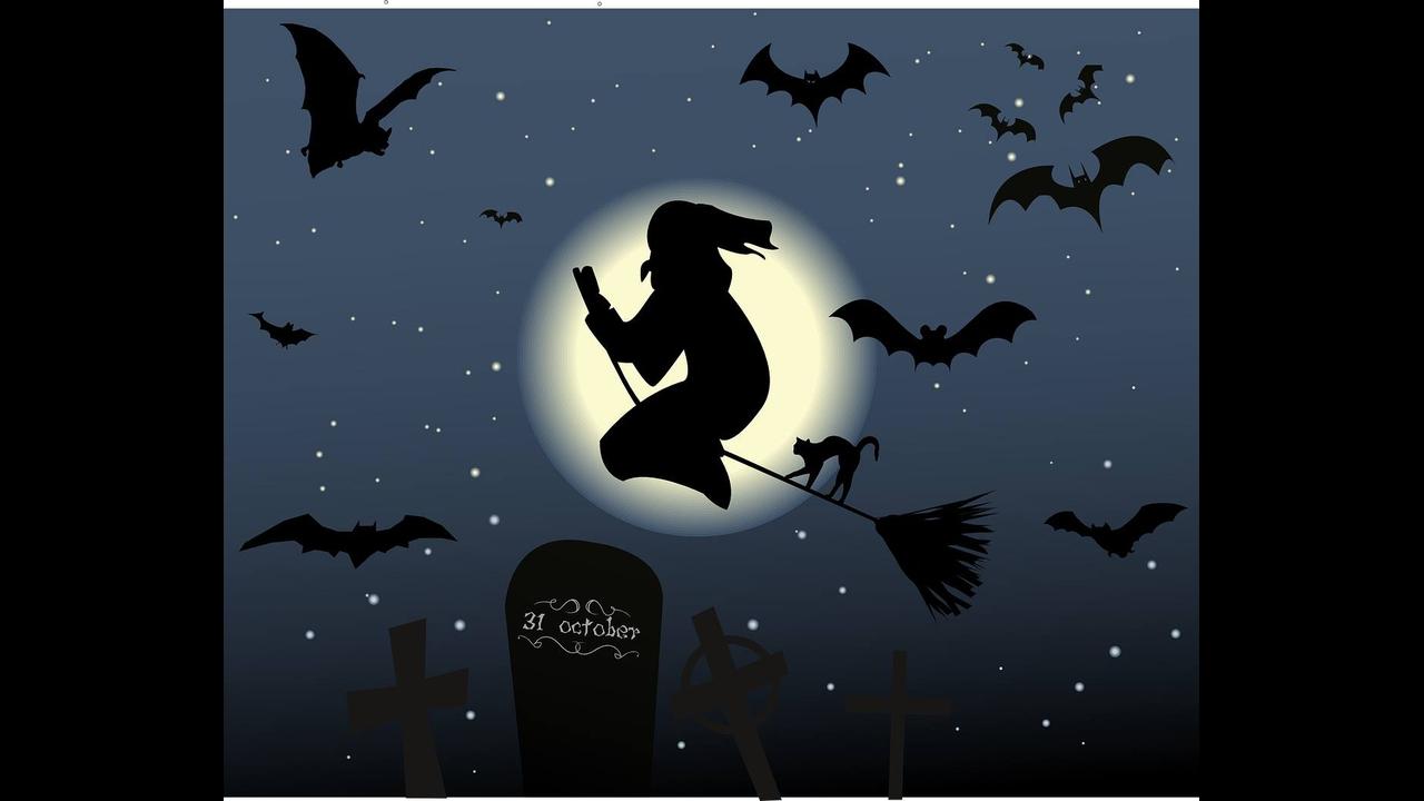Feliz Halloween! Que todos feitiços virem contra os feiticeiros