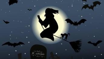 Feliz Halloween! Que Todos Feitiços Virem Contra Os Feiticeiros!