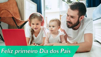 Feliz Primeiro Dia Dos Pais Para O Mais Novo Papai!