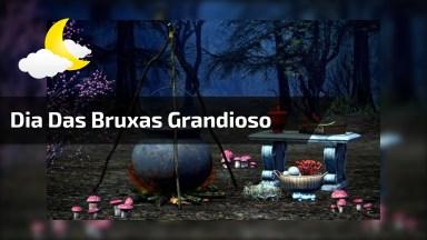 Halloween - No Dia Das Bruxas Esperamos Acontecimentos Grandiosos. . .