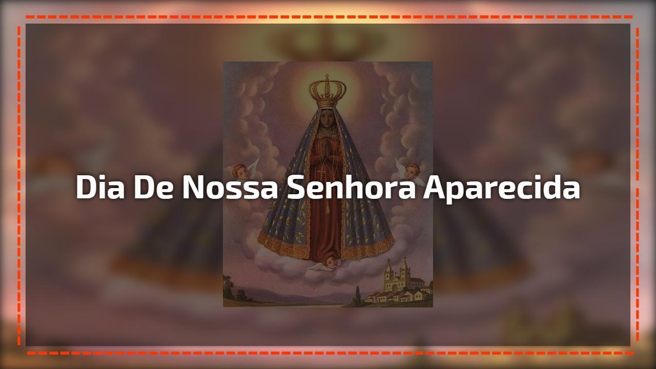 Mensagem De Nossa Senhora Aparecida Que Ela Interceda Por: Nossa Senhora Da Luz, Maria Mãe De Jesus, Cuide Todos Nós