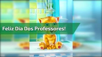 Mensagem De Feliz Dia Dos Professores! Parabéns Professores Pelo Seu Dia!