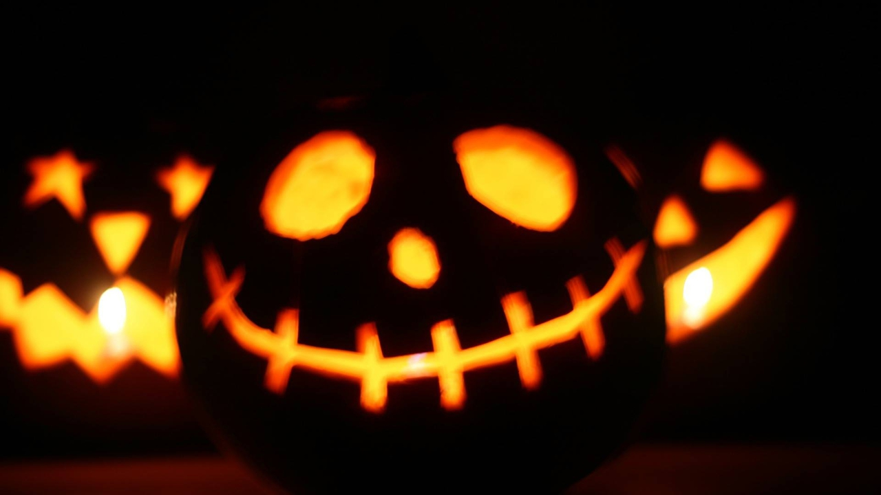 Mensagem de Feliz Halloween para enviar ao amor de sua vida