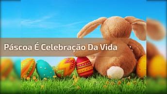 Mensagem De Feliz Páscoa Para Facebook, Celebre A Vida E O Amor De Jesus Por Nós!